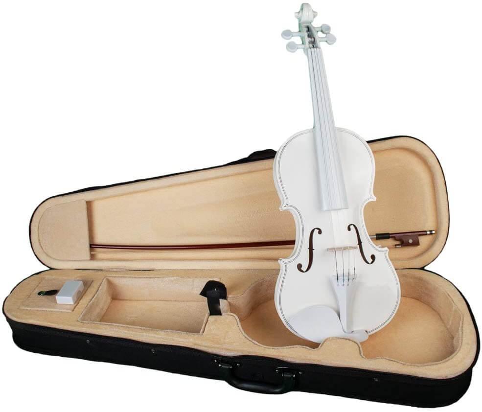 violines blancos precio