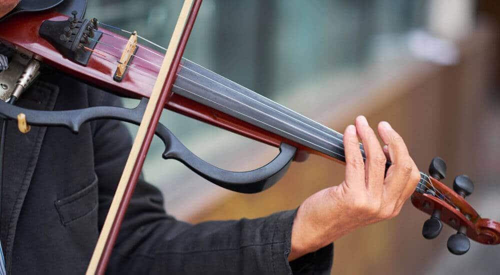 tipos de violines electricos